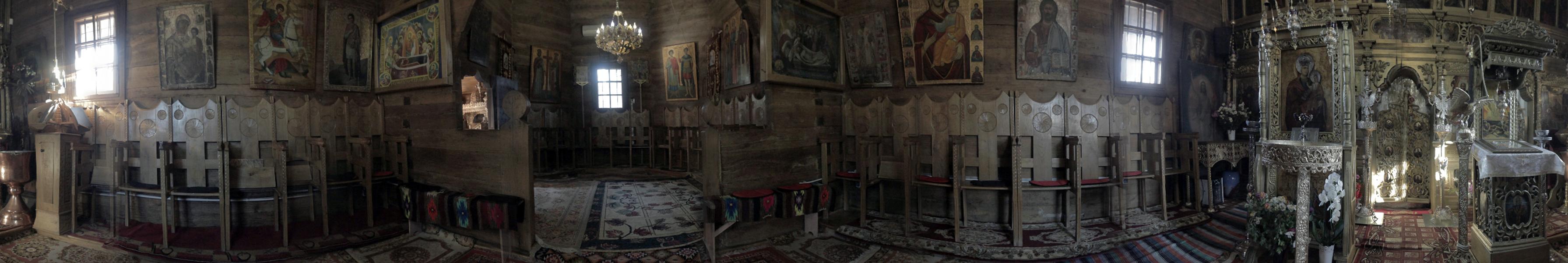 """Bisericuța de lemn """"Adormirea Maicii Domnului"""""""